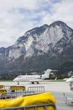 Aéroport en Autriche Photographie stock libre de droits