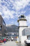 Aéroport en Autriche Photo stock