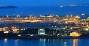 Aéroport en Chine Photographie stock