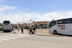 Aéroport en 2016 dans la ville d'Agadir Photos stock