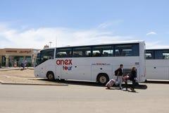 Aéroport en 2016 dans la ville d'Agadir Photographie stock