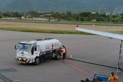 Aéroport en Santa Marta Image libre de droits