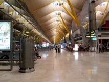 Aéroport Espagne l'Europe de Madrid-Barajas de rez de ¡ d'Adolfo Suà Photos libres de droits
