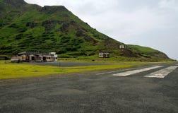 Aéroport et piste Image libre de droits