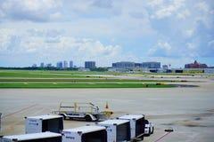 aéroport et Tampa du centre Images stock