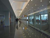 Aéroport européen Photo stock