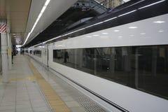 Aéroport exprès à la station de Nippori Photographie stock libre de droits