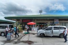Aéroport extérieur de Dumaguete Photo libre de droits