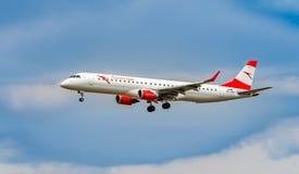 AÉROPORT FRANCFORT, ALLEMAGNE : LE 23 JUIN 2017 : Autrichien AI de Boeing 767 Images stock