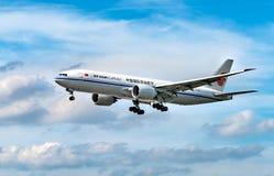 AÉROPORT FRANCFORT, ALLEMAGNE : LE 23 JUIN 2017 : Sud de Boeing 777FChina Photographie stock libre de droits