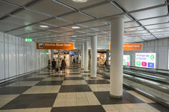 Aéroport Franz Josef Strauss de Munich Photos libres de droits