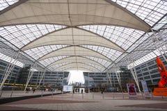 Aéroport Franz Josef Strauss de Munich Images stock