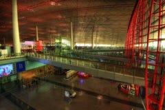 Aéroport Hall de Pékin Photos stock