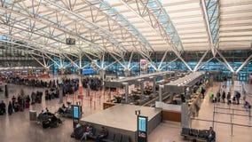 Aéroport Hyperlapse de Hambourg banque de vidéos