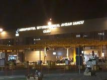 Aéroport international à Cluj photo libre de droits