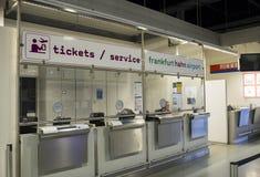 Aéroport international à Francfort Hahn, Allemagne images libres de droits
