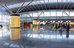 Aéroport international Boryspil dans Kyiv, Ukraine Images libres de droits