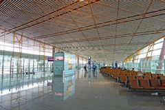 Aéroport international capital de Pékin Photos libres de droits