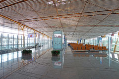 Aéroport international capital de Pékin Photo libre de droits