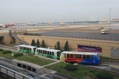 Aéroport international capital de Pékin Photographie stock