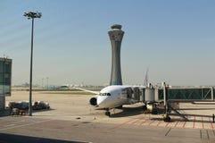 Aéroport international capital de Pékin Photo libre de droits