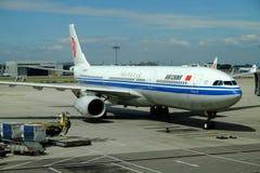 Aéroport international capital de Pékin Image stock