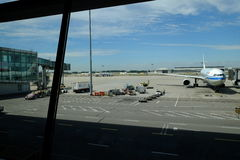 Aéroport international capital de Pékin Photos stock