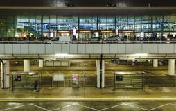 Aéroport international Chopin à Varsovie Photographie stock libre de droits