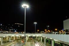 Aéroport international Chopin à Varsovie Images stock