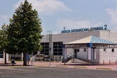 Aéroport international d'Antalya Photo libre de droits