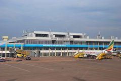 Aéroport international d'Entebbe Photo libre de droits