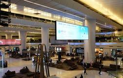 Aéroport international d'Indira Gandhi delhi Images libres de droits