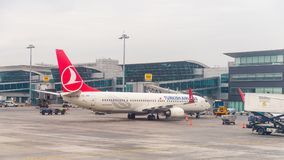 Aéroport international d'Istanbul Photos stock