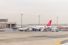 Aéroport international d'Istanbul Photographie stock libre de droits