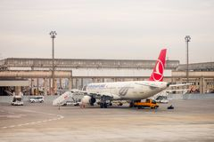 Aéroport international d'Istanbul Photos libres de droits