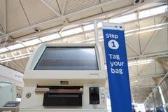Aéroport international d'o'Hare Image libre de droits
