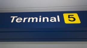 Aéroport international d'o'Hare Images libres de droits
