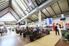 Aéroport international dans Siem Reap Image stock