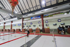 Aéroport international dans Siem Reap Photographie stock