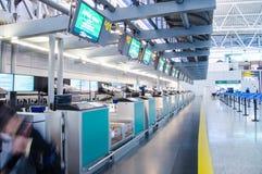 Aéroport international de baiyun de Guangzhou, embarquant au sujet de Photos libres de droits