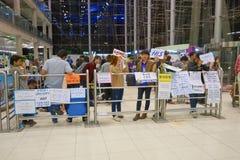 Aéroport international de Bangkok Image stock