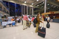 Aéroport international de Bangkok Images stock