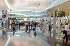 Aéroport international de Barcelone Image stock