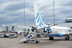 Aéroport international de Birmingham Photos libres de droits