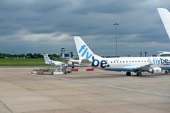 Aéroport international de Birmingham Photographie stock