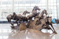 Aéroport international de Calgary Image stock