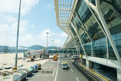 Aéroport international de Changhaï Photos stock