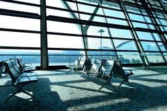 Aéroport international de Changhaï Pudong Image stock