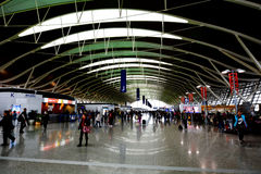 Aéroport international de Changhaï Pudong Images libres de droits