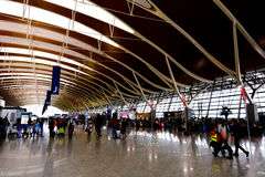 Aéroport international de Changhaï Pudong Photo stock